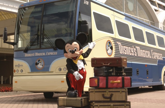 Disney's Magical Express Luggage Delivery Service no longer provided