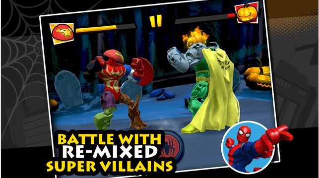 "A Super Hero Halloween is Coming to the ""Mix + Smash: Marvel Super Hero Mashers"" App"