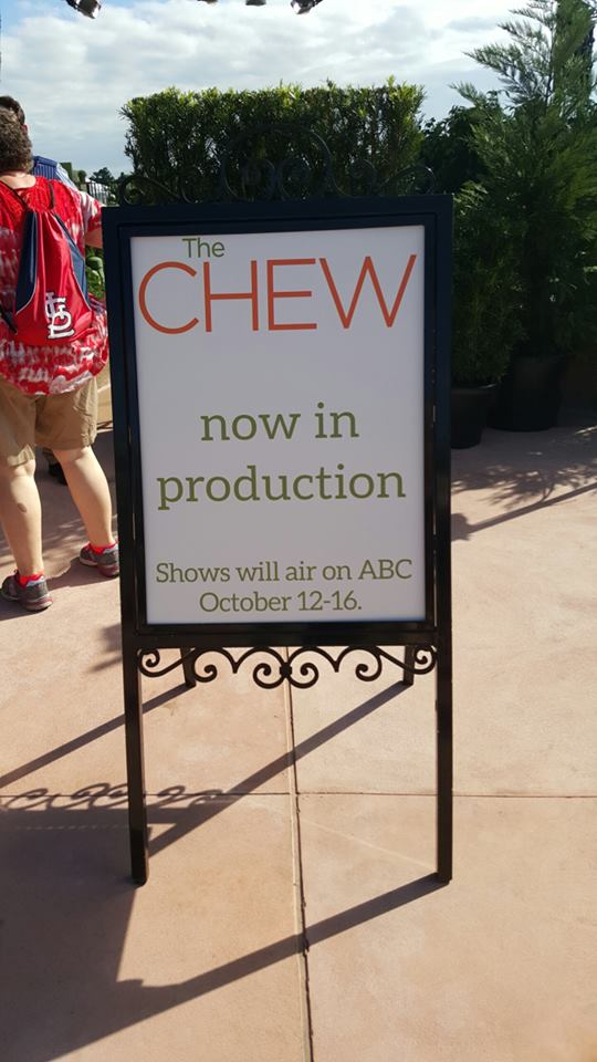 """""""The Chew"""" airing shows from the Epcot Food & Wine Festival this week!"""