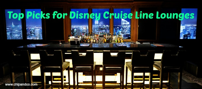 My Top Spots to Grab an Adult Beverage Aboard the Disney Cruise Line