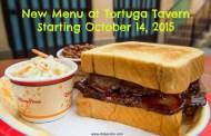 New Menu Announced at Magic Kingdom's Tortuga Tavern