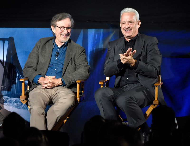 "Tom Hanks and Steven Spielberg in ""Bridge of Spies"" Interview Share Competition"