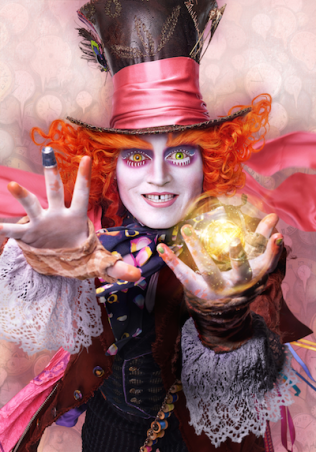 alice through looking glass