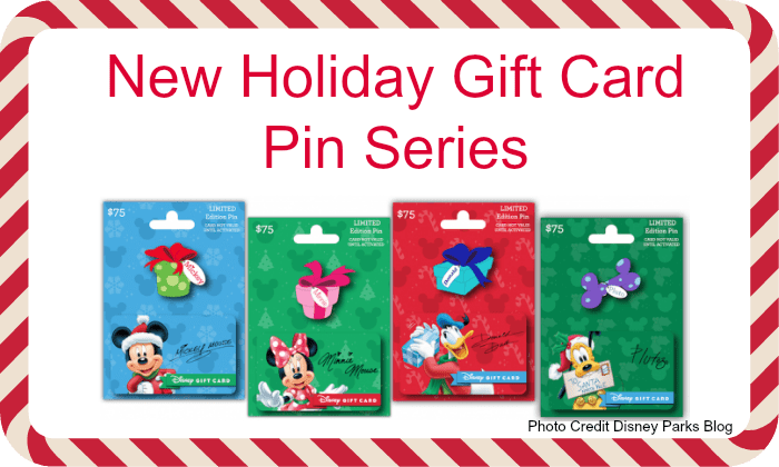 New Holiday Gift Card Pin Series