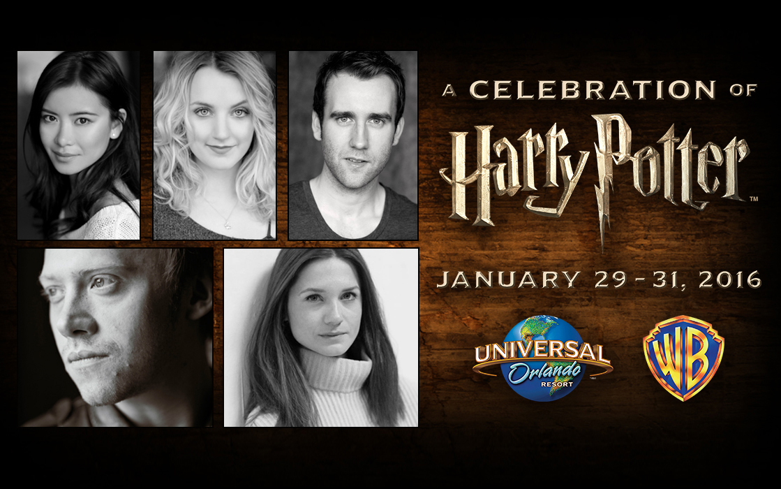 Universal Orlando's 3rd Annual Celebration of Harry Potter Event-January 29-31, 2016-Talent Announced!