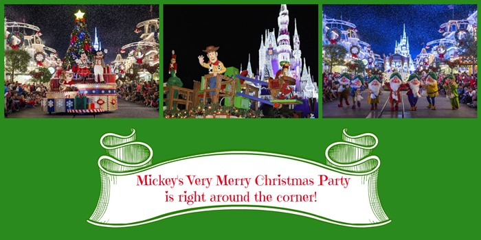 Mickey's Very Merry Christmas Party is right around the corner!