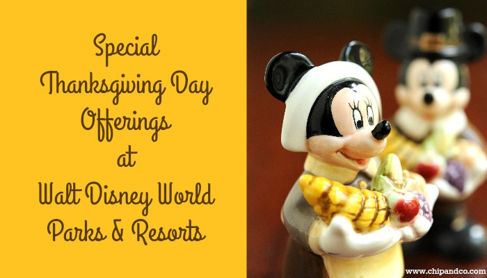 Celebrate Thanksgiving With Special Offerings in Walt Disney World
