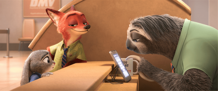 """Zootopia's New Trailer Introduces """"Flash"""""""
