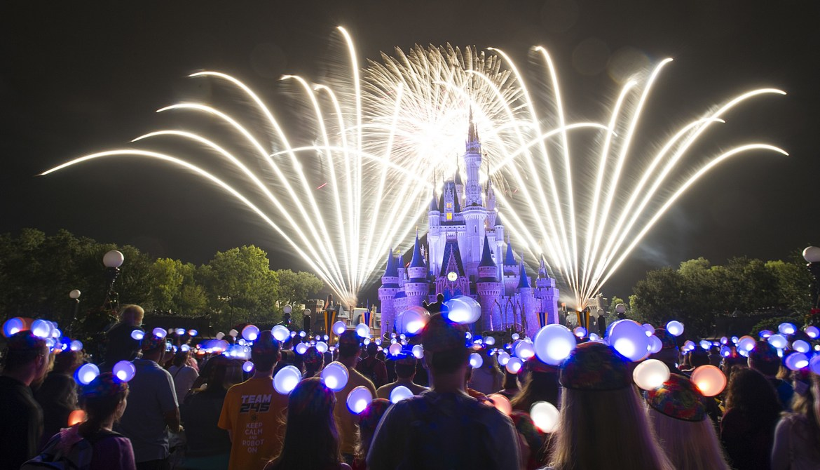 Don't miss the New Year's Eve Entertainment at Walt Disney World Resort