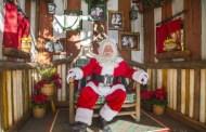 Santa Claus Shares Holiday Magic at Disneyland Park