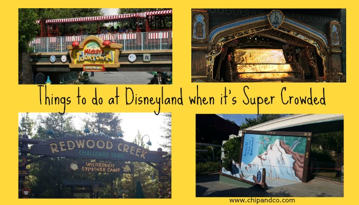 Top 10 Things to do at Disneyland when it's Super Crowded