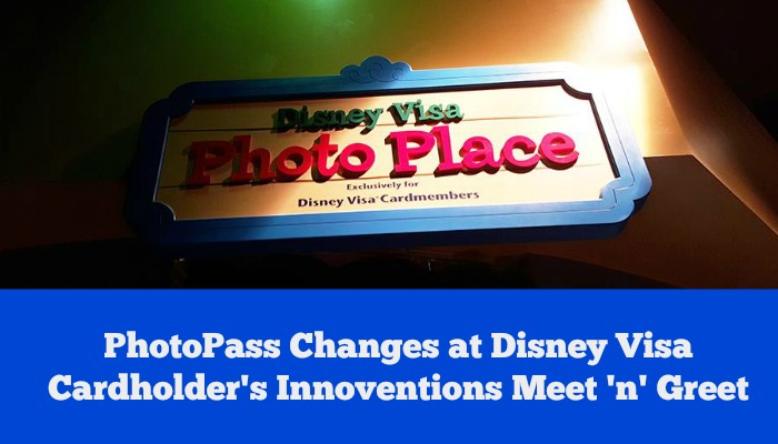 PhotoPass Changes at Disney Visa Cardholder's Innoventions Meet 'n' Greet