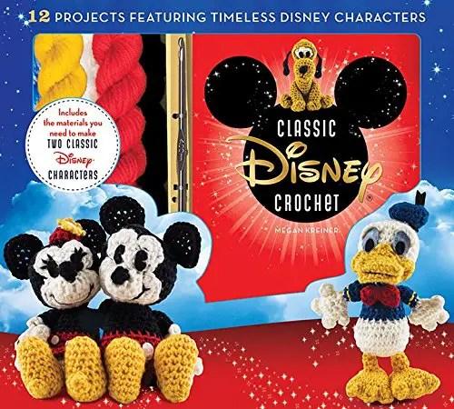 Craft Away the Winter Blues with Disney Crochet Kits