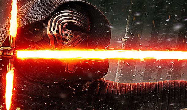 Receive a Free Kylo Ren Light Saber at the Disney Store