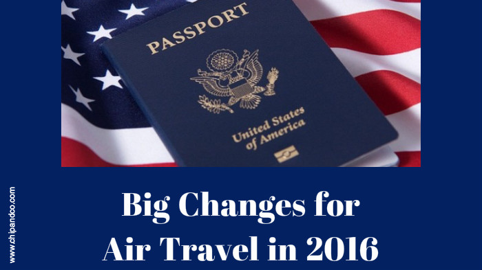 Big Changes Coming to Air Travel in 2016