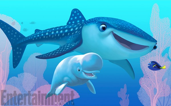 Finding Dory Welcomes Two New Friends