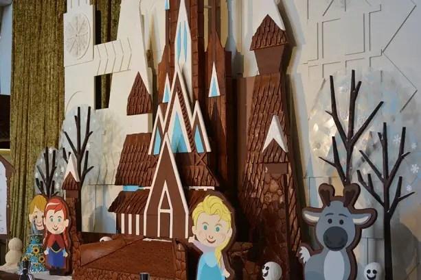 Gingerbread Displays Are Up at Walt Disney World