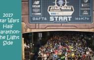 2017 Star Wars Half Marathon-The Light Side Dates
