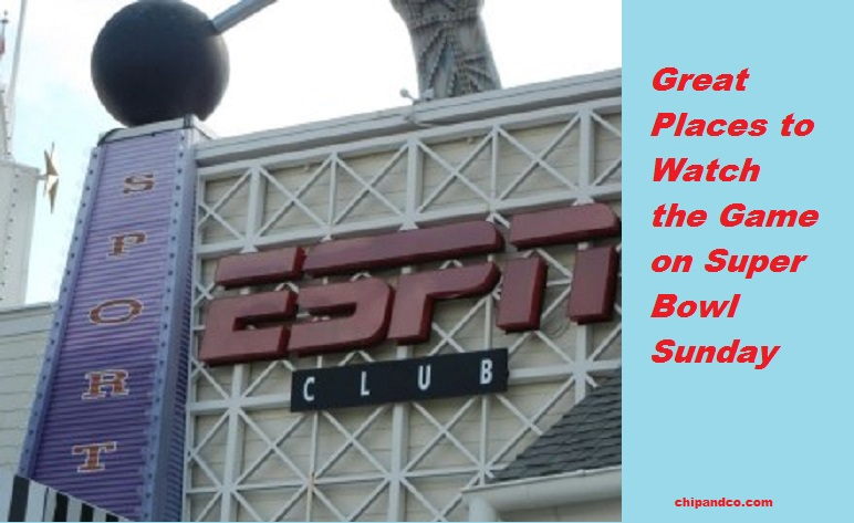 Great Places to Catch the Game on Super Bowl Sunday at Walt Disney World