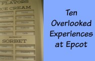 Ten Overlooked Experiences at Epcot