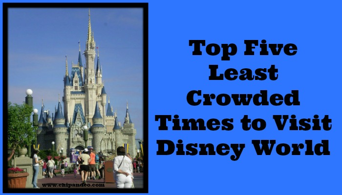 Top Five Least Crowded Times to Visit Disney World