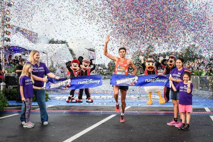 Fredison Costa repeats as 2016 Walt Disney World Marathon winner for third year in a row
