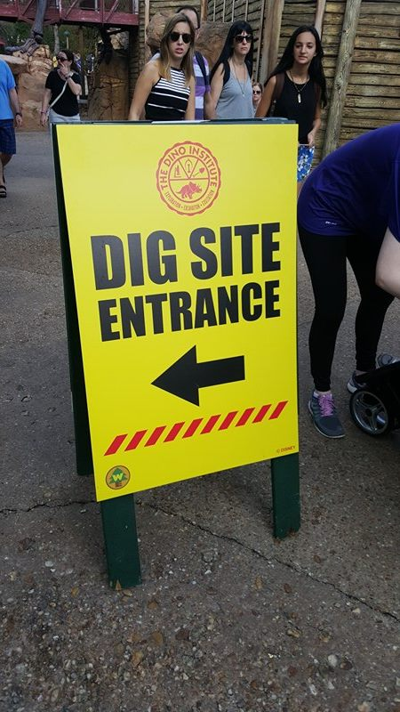 Animal Kingdom's Dig Site remains open during refurbishment