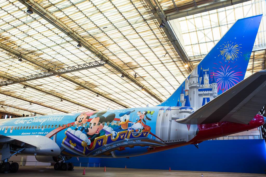 TAM Airlines releases new Disney Wrapped Plane