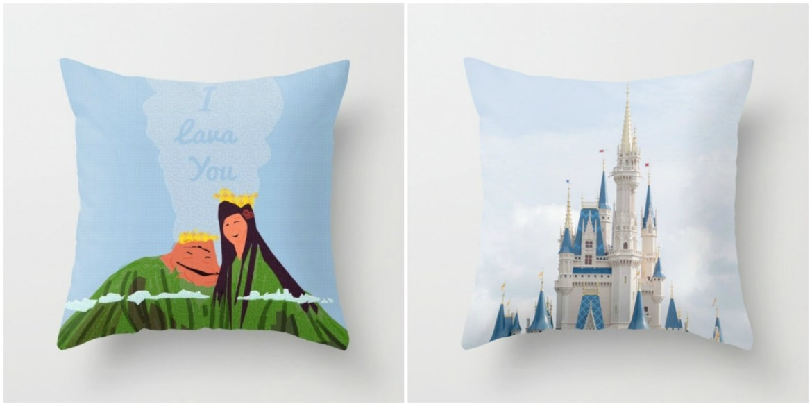 Add a Touch of Disney Sentiment to Your Home with Fantastic Throw Pillows