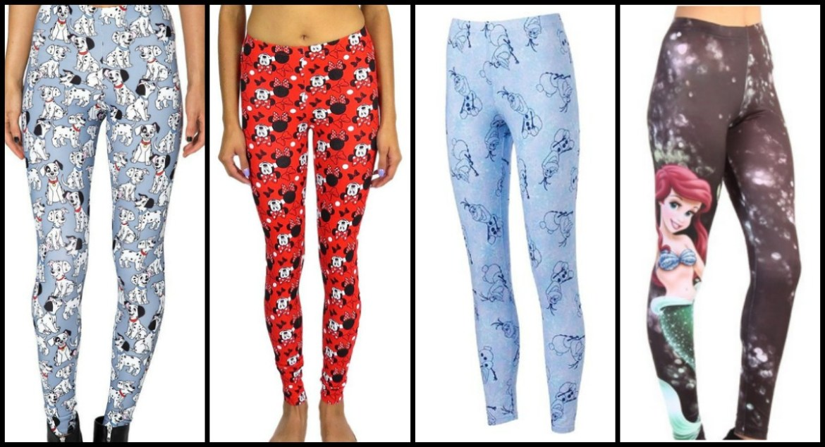Fabulously Fun Leggings For Disney Fans