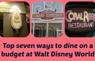 Top 7 ways to dine on a budget at Walt Disney World