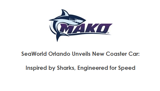 SeaWorld Orlando Unveils New Coaster Car: Inspired by Sharks, Engineered for Speed