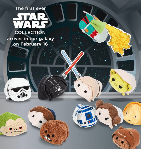 Star Wars Tsum Tsum Collection Officially Announced