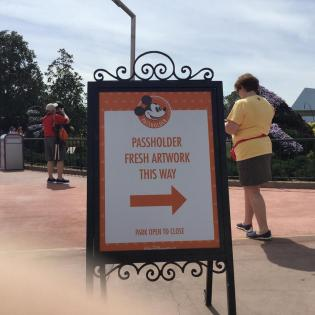 """Annual Pass holders can pick up a special print by artist Don """"Ducky"""" Williams."""