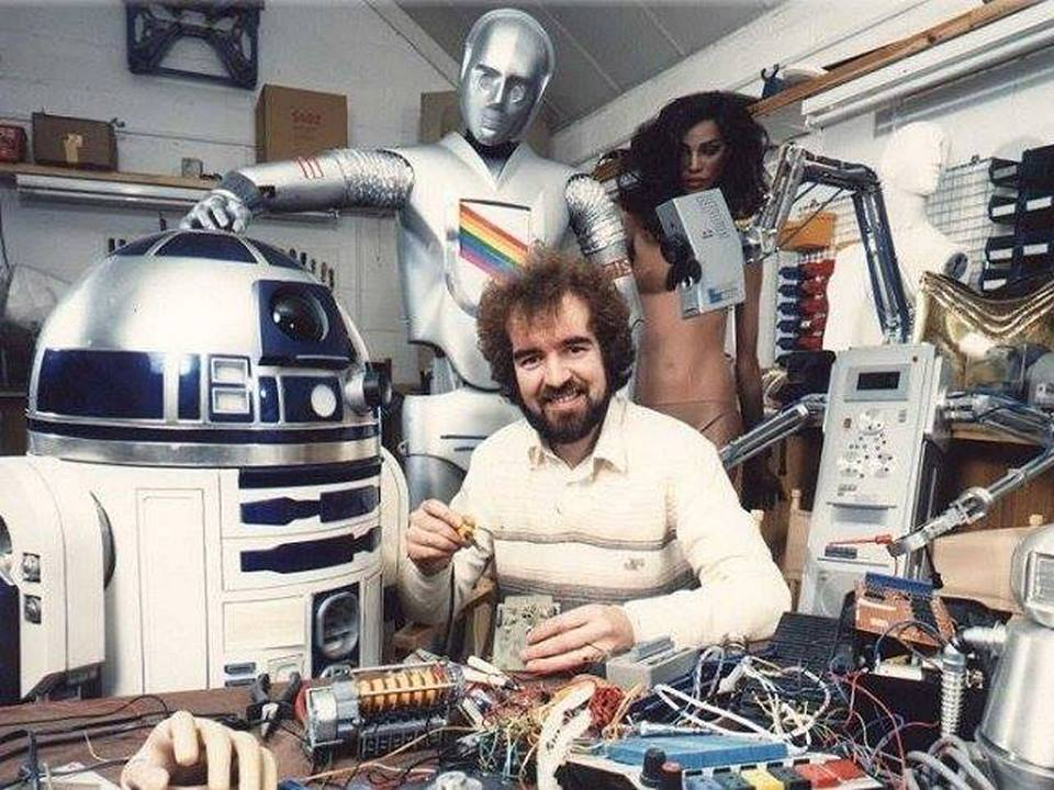 The Creator of Star Wars' R2-D2 Tony Dyson Dies at 68