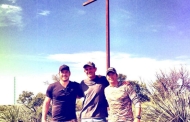 Guardian of the Galaxy star Chris Pratt builds a giant cross to celebrate Easter