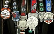 Run Disney Dark Side Half Marathon Medals