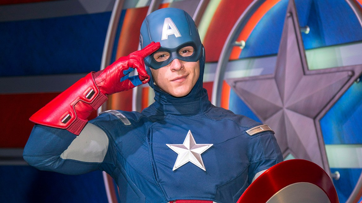 Captain America and Spiderman to arrive at Disney California Adventure this April