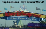 Top five reason's I love Disney World!