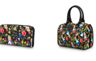 Wondrous Floral Alice in Wonderland Purse and Wallet by Loungefly