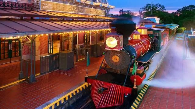 Magic Kingdom Railroad Closed For Refurbishment April 11 – 23