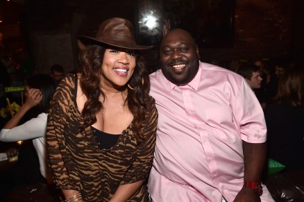 """HOLLYWOOD, CALIFORNIA - APRIL 04: Comedian Kym Whitley (L) and actor Faizon Love attend The World Premiere of Disney's """"THE JUNGLE BOOK"""" at the El Capitan Theatre on April 4, 2016 in Hollywood, California. (Photo by Alberto E. Rodriguez/Getty Images for Disney) *** Local Caption *** Faizon Love; Kym Whitley"""