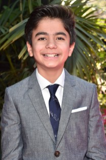 """HOLLYWOOD, CALIFORNIA - APRIL 04: Actor Neel Sethi attends The World Premiere of Disney's """"THE JUNGLE BOOK"""" at the El Capitan Theatre on April 4, 2016 in Hollywood, California. (Photo by Alberto E. Rodriguez/Getty Images for Disney) *** Local Caption *** Neel Sethi"""