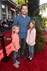 """HOLLYWOOD, CALIFORNIA - APRIL 04: Actor Jon Heder (C) attends The World Premiere of Disney's """"THE JUNGLE BOOK"""" at the El Capitan Theatre on April 4, 2016 in Hollywood, California. (Photo by Alberto E. Rodriguez/Getty Images for Disney) *** Local Caption *** Jon Heder"""