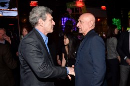 """HOLLYWOOD, CALIFORNIA - APRIL 04: Chairman of the Walt Disney Studios, Alan Horn (L) and actor Sir Ben Kingsley attend The World Premiere of Disney's """"THE JUNGLE BOOK"""" at the El Capitan Theatre on April 4, 2016 in Hollywood, California. (Photo by Alberto E. Rodriguez/Getty Images for Disney) *** Local Caption *** Alan Horn; Ben Kingsley"""