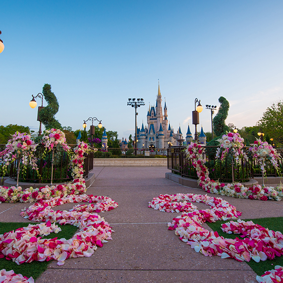 You can now get Married in the East Plaza Garden in the Magic Kingdom at the Walt Disney World Resort
