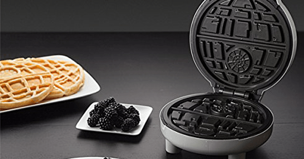 Give Yourself to the Dark Side, We Have Death Star Waffles.