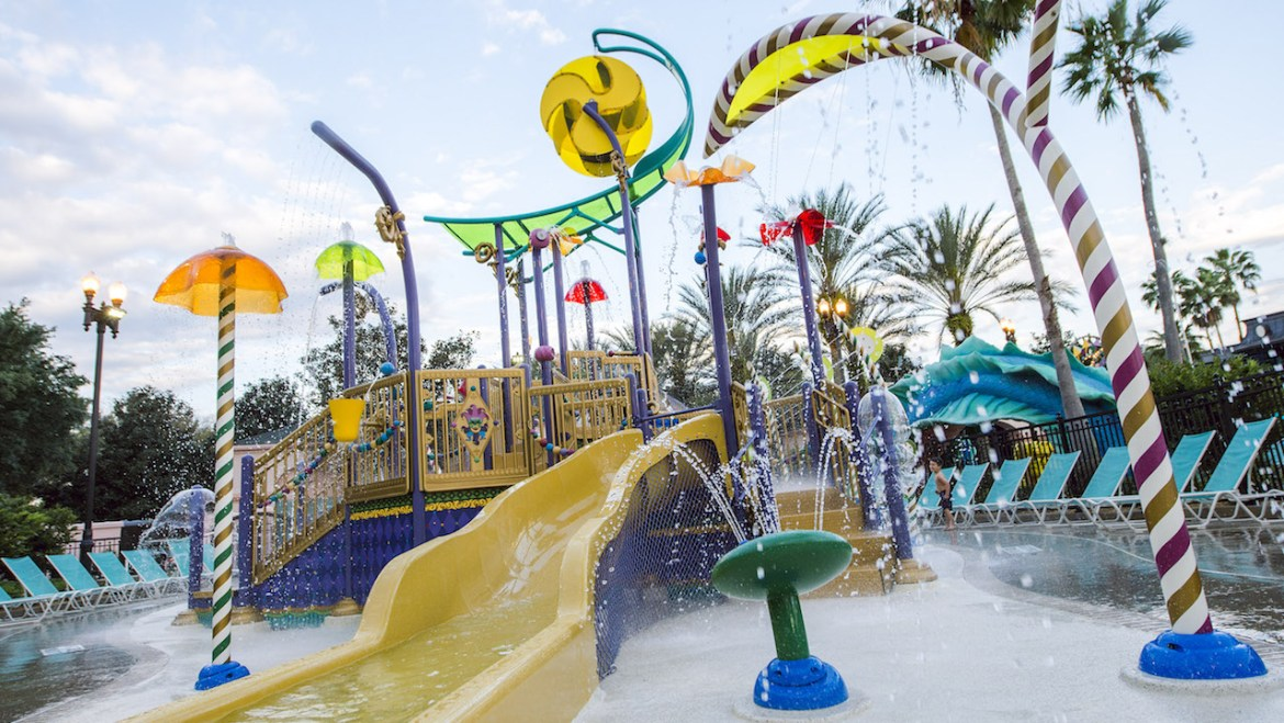 New Aquatic Playground Open at Disney's Port Orleans Resort – French Quarter