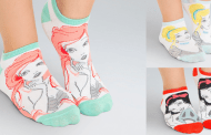 Flirty and Fun Disney Princess Ankle Socks