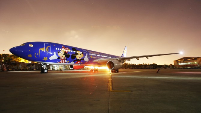 China Eastern Airlines Debuts New Shanghai Disney Themed Plane